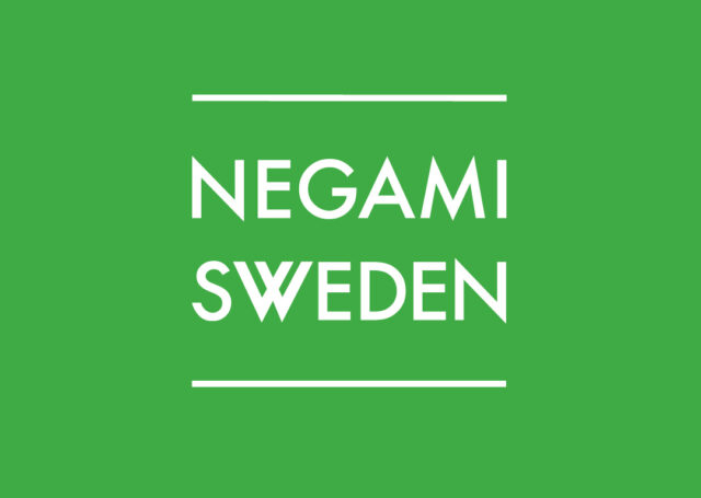 Logga till Negami Sweden.