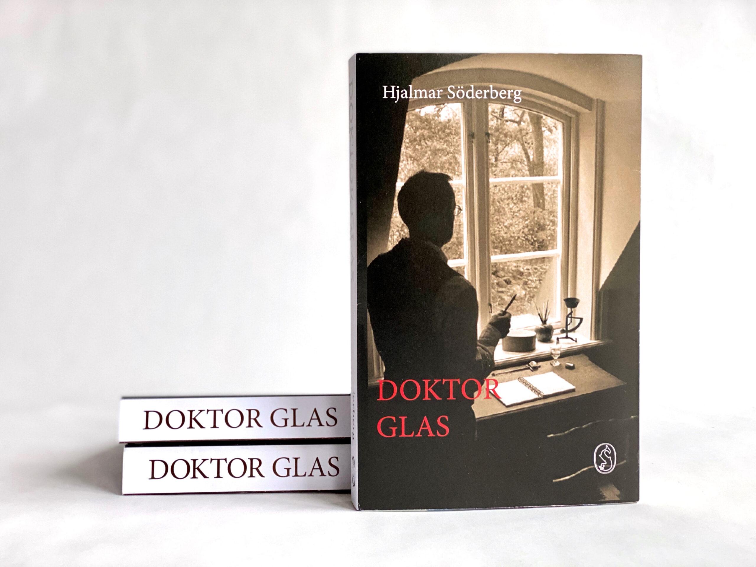 Bokomslag till Doktor Glas.